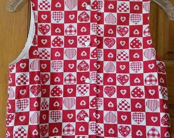 Children's Valentine's Day Vest