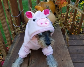 Dog Pig Costume, Pet Pig Costume Halloween Pig costume