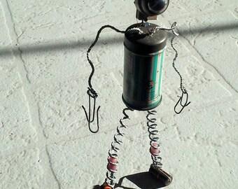 Robot Sculpture- Baby powder