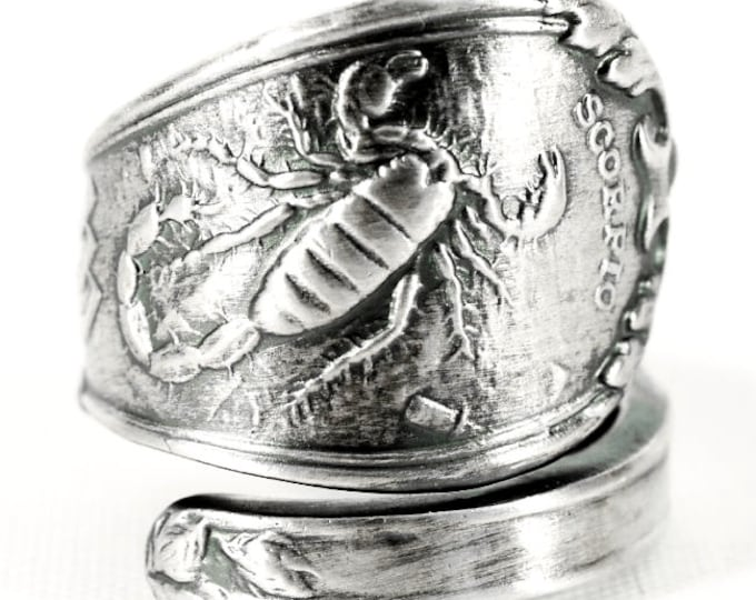 jewelry collections rings silver scorpio mens proclamation