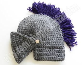 teen gift Knight Helmet Hat Crochet Slouch Mens Convertible Beanie Hat Handmade Winter Men Snowboard Ski Hat unisex