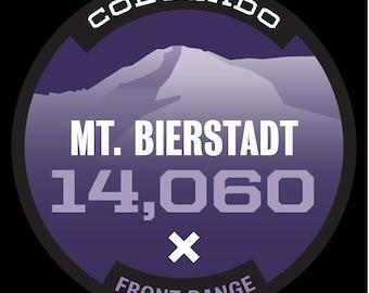 14er Sticker- Mt. Bierstadt
