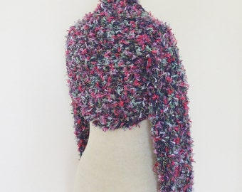 Women Bolero/Shrug/Cardigan, Knit Women Bolero, Multicolour Shrug / Bolero, Long Sleeves Bolero, Women Schrug, UK Seller