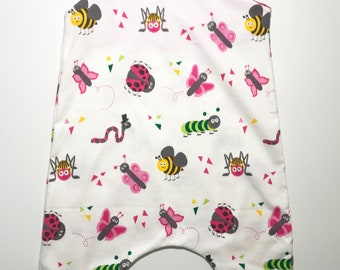 Bugs Baby Romper, unisex baby romper, insects romper, baby boy clothes, baby girl clothes, organic baby clothing, toddler pants