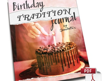 Birthday Tradition Journal by Jennibellie