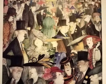 Royal Ascot - Sue Macartney-Snape signed Limited Edition Print
