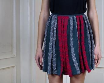 Extravagant pleated skirts