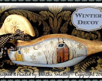 Apple Tree Cottage Original Design E Pattern - Winter Decoy