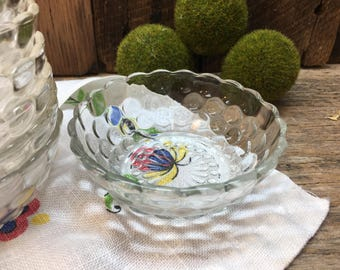 Anchor Hocking Bowls/Bubble Design/Clear/Listing For One/Eight Available