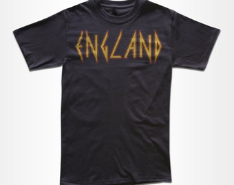 ENGLAND T Shirt - Graphic Tees for Men, Women & Children - Short Sleeve and Long Sleeve Available