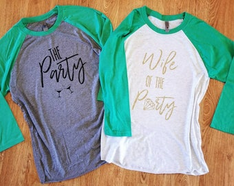 Bachelorette Party Shirts | Wedding Party Shirts | Custom Bachelorette Shirts | Wife of the Party | Bridal Party Shirts | Personalized Shirt