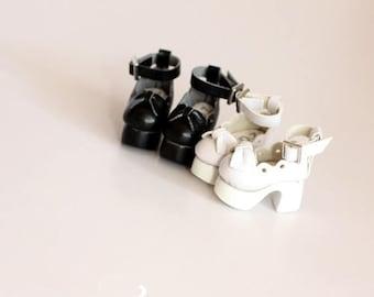 Lolita lace heels for Blythe/DAL/Pullip/Momoko/AZONE/JerryBerry/Lati_Y/Pukifee
