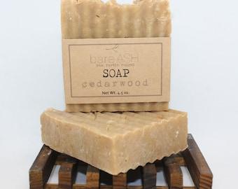bareASH Cedarwood Goat Milk Soap