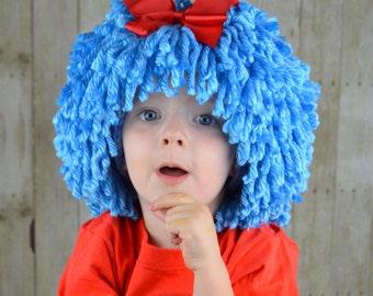Halloween-Kostüm, was Kostüme, Kostüme für Kinder, Sache Perücke Dr. Suess inspiriert Sache 1 Sache 2 Hut Zwillinge Halloween oder Festzug Kostüm