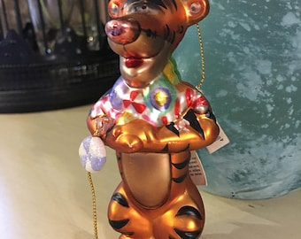 Walt Disney's Winnie The Pooh's TIGGER Vintage Christmas Ornament Tiger