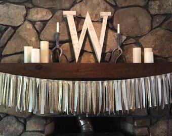 Fabric Backdrop/ Rustic Wedding Backdrop/ Rustic Chic Wedding Curtain/ Bridal Shower Decor/ Wedding Decor