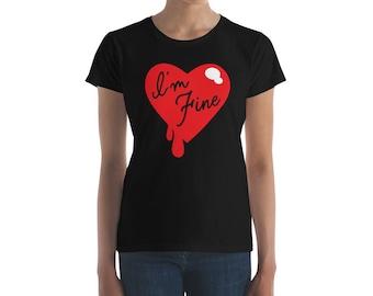 I'm Fine - Women's short sleeve t-shirt