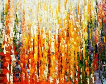 Abstract-by the monsoon f94928 60 x 120 cm exquisite painting hand painted