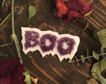 Boo halloween magnet | halloween accessories | goth magnet | pastel goth accessories