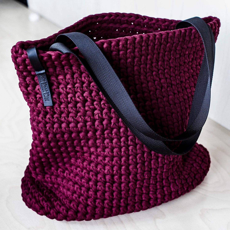 Tasche für jeden Tag Tote / häkeln Umhängetasche / jeden Tag