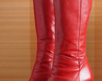 BUFFALO T24400 CULT 38 platform boots red 90's Club Kid Grunge 90s 24400 t