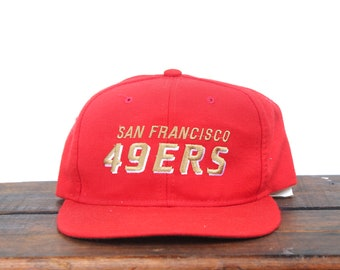 Vintage San Francisco Forty Niners 49ers Football NFL Hat Snapback Baseball Cap