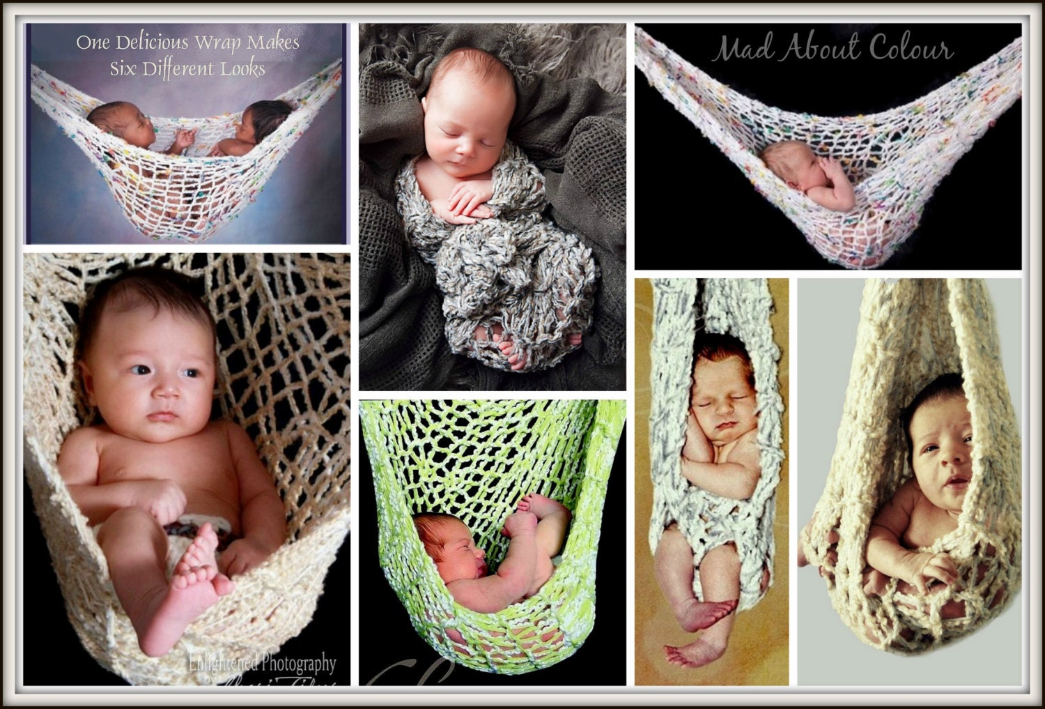 zoom baby hammock knitting pattern twin big newborn hanging baby  rh   etsy