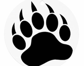 Grizzly Bear decal