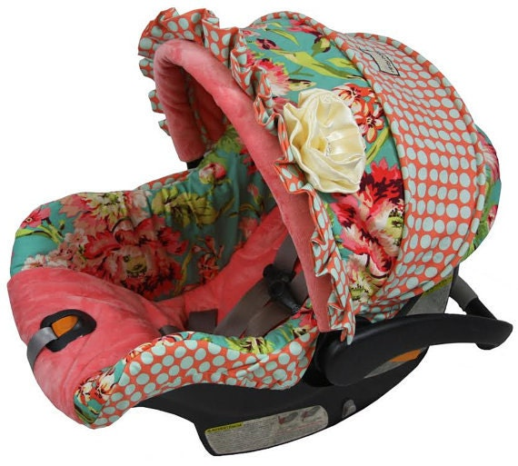 Baby Custom Car Seat Cover 4 Pc Love Bliss Custom Baby Car