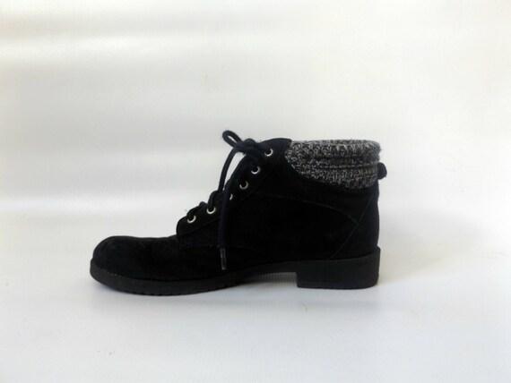 0c9304968d5c1 up sock booties 1990s ladies hippy hippie hiking lace 6 shoes boho ...