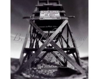 Lifeguard Stand Picture, Cedar Beach, Long Island, New York, Babylon