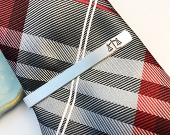Scales of Justice ~ Tie Bar ~ Tie Clip ~ Lawyer Gift ~ Law School Graduation Commencement ~ Judge ~ Men's Accessory ~ Equality ~ Paralegal