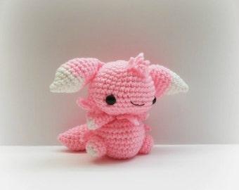 Crochet Espurr Inspired Chibi Pokemon