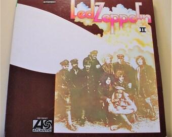 """Led Zeppelin - Led Zeppelin II (1969), 12"""" Vinyl Lp Record Album, Reissue, Gatefold Cover, VG+, Atlantic SD 19127"""