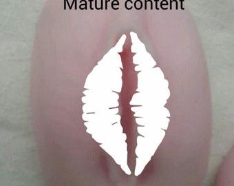 Vagina shaped soap large size,  lesbian gift, novelty gift, bachelor party,  bachelorette party,  white elephant,  gag gift