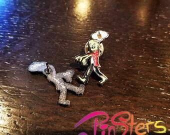 Zombie Frapp Halloween Enamel Pin