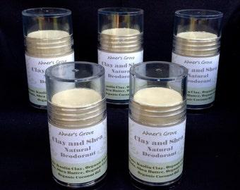 Clay and Shea Natural Deodorant