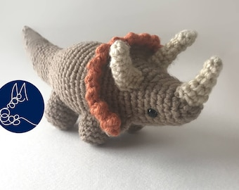 Triceratops - Dinosaur Amigurumi Pattern