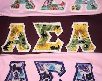 Greek Letter T-shirts!!!