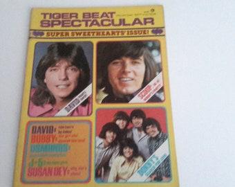 Tiger beat spectacular 1971 david cassidy,the jacksons,the osmonds.bobby sherman