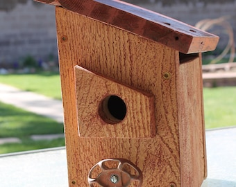 Barn Red Cedar Birdhouse