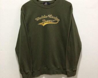 Vintage North Fox in Hokkaido Sweatshirt Spellout Anime Movie Cartoon Hip Hop Big Logo Sweatshirt NC0tHdwBl
