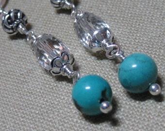 Southwest Sparkle Linear Earrings - E777