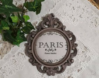 weathered antique baroque frame
