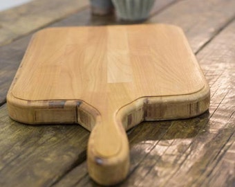 BRAUO - Handmade Reclaimed Wood Kitchen Board. Custom Made To Order.