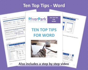 Ten Top Tips - Word eBook