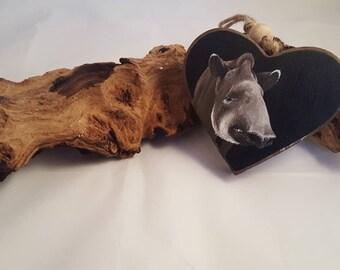 Tapir pendant