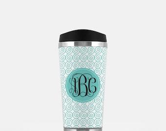Personalized Travel Mug - Travel Tumbler - Coffee Mug - Custom Coffee Mug - Mother's Day Gift - Bridal Party Gift - Gift for Her - Coffee