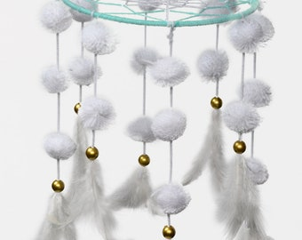 Love nest dream catcher wind chime wall hanging
