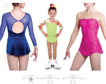 Jalie 3465 - CARMEN Skating Dress / 22 Sizes / Child & Adult